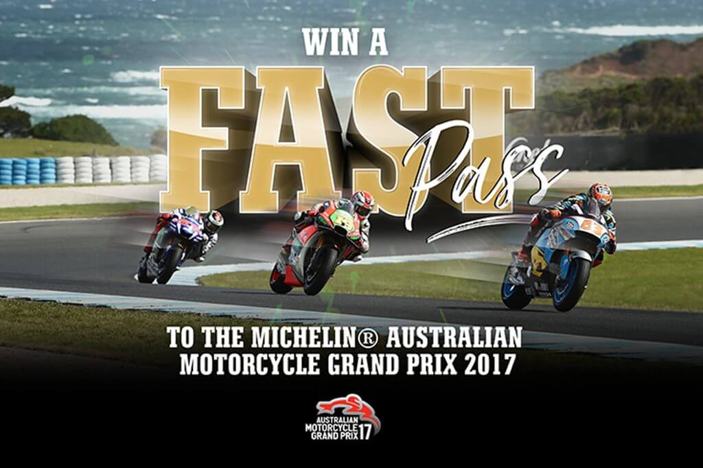 Win A Motorcycle Fast Pass